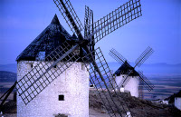 Archidona Andalucia wind mill